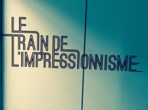 train l'impressionisme