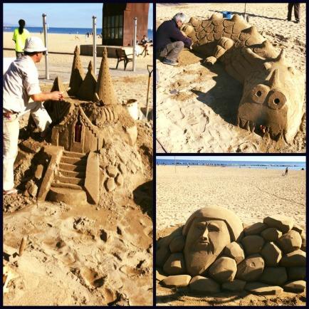 Barca Sandcastles