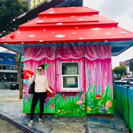 shroom hut Haight