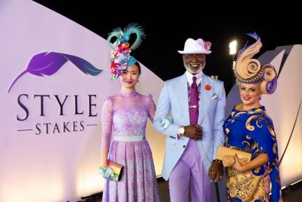 meydan style couple and hat